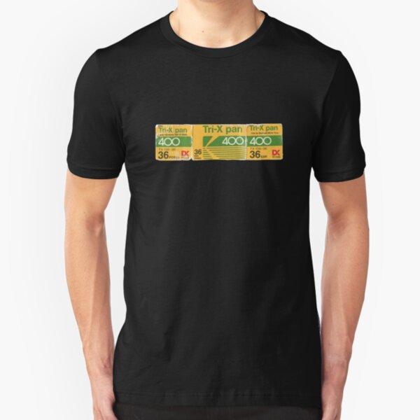 Kodak Tri-X Film Box Slim Fit T-Shirt