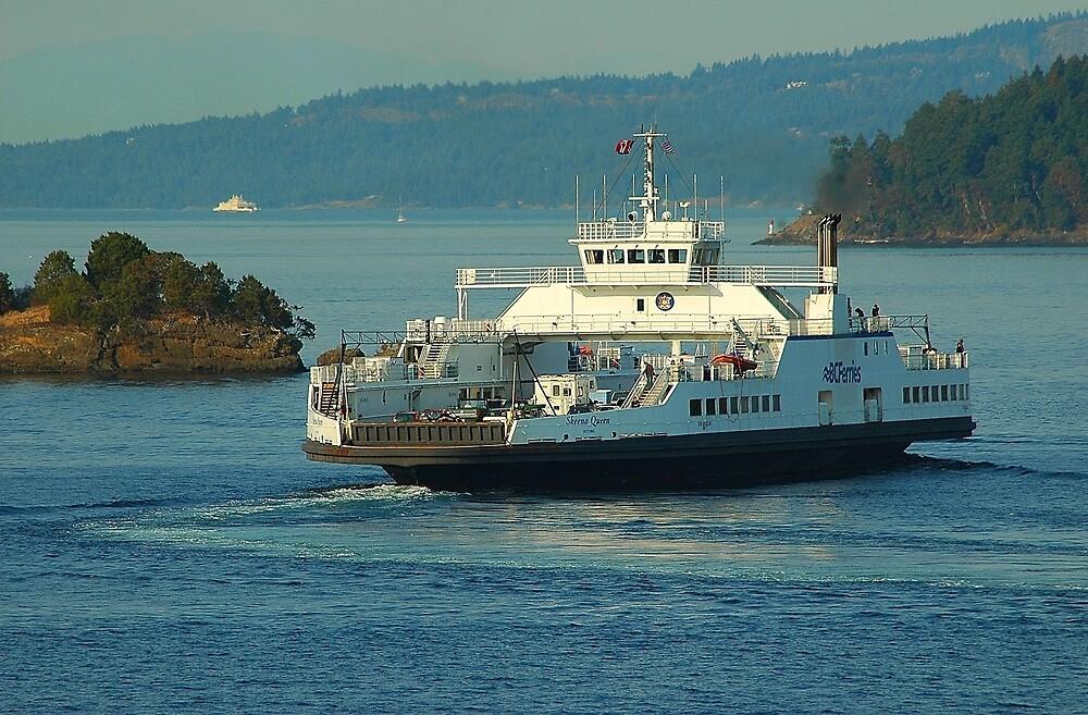 Outbound Ferry by Terry Krysak