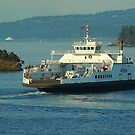 Outbound Ferry by Terry Krysak