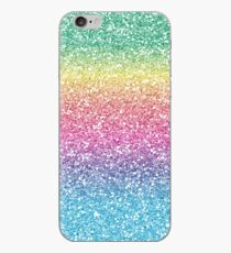 Vinilo o funda para iPhone Brillo Ombre Arco Iris