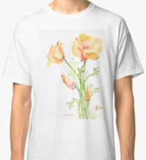 Bunch of California Poppies Classic T-Shirt