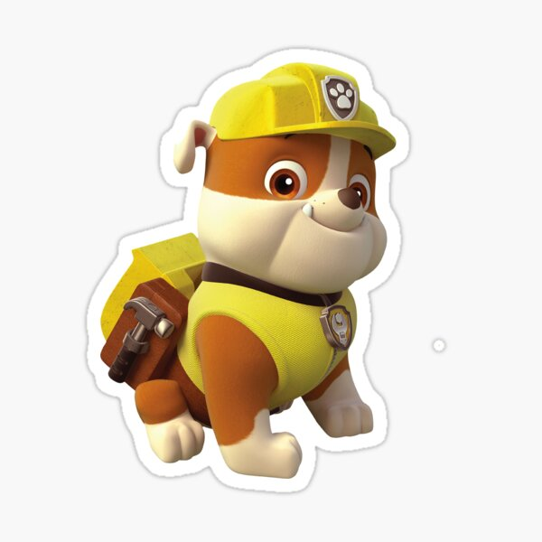 Paw Patrol Rubble Sticker