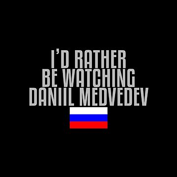 I'd rather be watching Daniil Medvedev by mapreduce