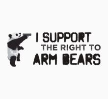 I Support the Right to Arm Bears, Panda Bears | Unisex T-Shirt