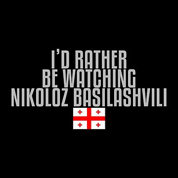 I'd rather be watching Nikoloz Basilashvili by mapreduce