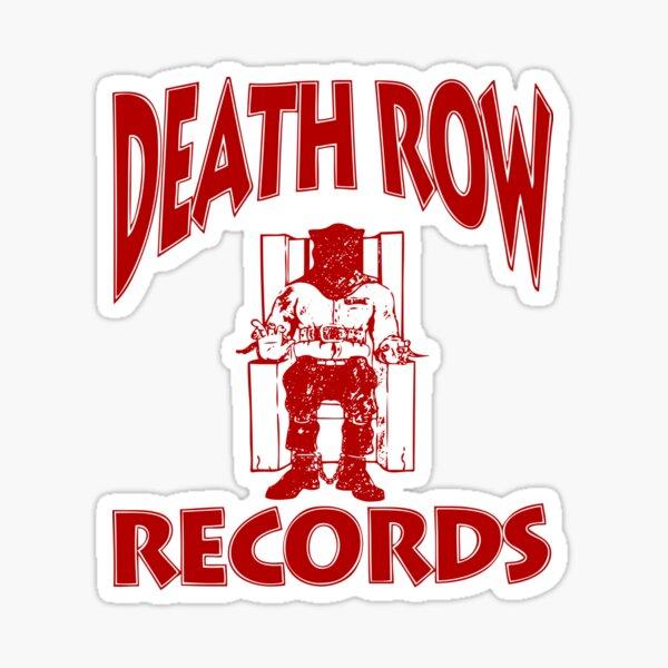DEATHROWred Sticker