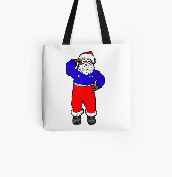 Père Noël des Bleus Tote bag doublé