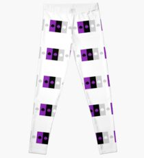 ASEXUAL FLAG ASEXUAL ACE OF SPADES ASEXUAL T-SHIRT Leggings