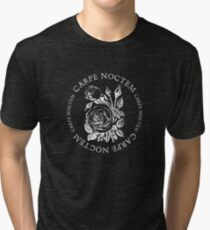Carpe Noctem Rose Tri-blend T-Shirt