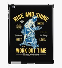 Work Out Time  iPad Case/Skin
