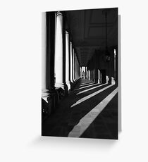 pilar perspective Greeting Card