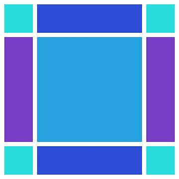 RGG-Blue Abstract by EvilGravy