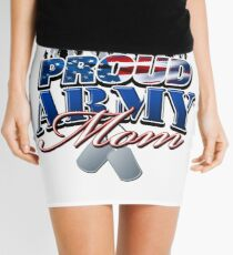 Proud Army Mom Mini Skirt