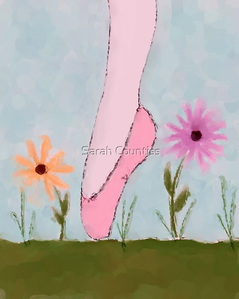 A Ballet in Flowers by Sarah Countiss