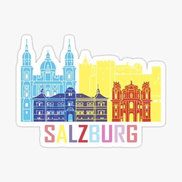Salzburg Austria City Sticker