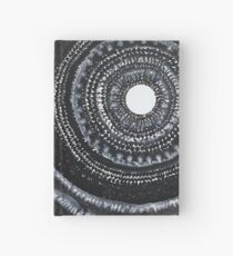 Gothic Waves original painting Hardcover Journal