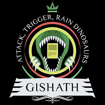 Commander Gishath by Jbui555
