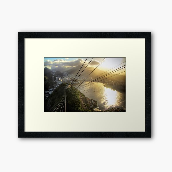 View from the Sugar Loaf #1 Framed Art Print