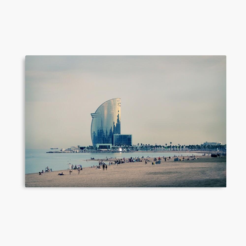 Playa de BCN Lienzo