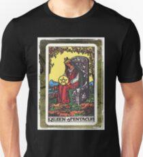 Queen Of Pentacles Tarot Card Fortune Teller T-Shirt