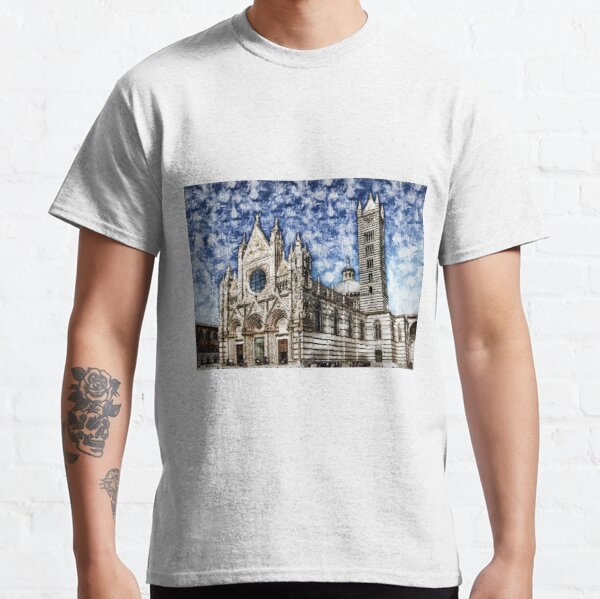 Cathedral of Santa Maria Assunta, Siena Classic T-Shirt