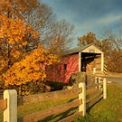 Bitzer's Mill Covered Bridge by shawng13