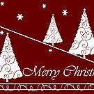 Merry X-Mas Card by Yvonne Müller