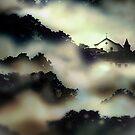 Paisagem com Igreja. by Marcel Caram