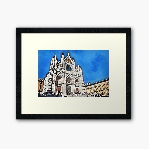 Cathedral of Santa Maria Assunta, Siena Framed Art Print
