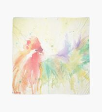 Watercolor Rooster Scarf