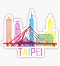 Taipei Taiwan City Sticker