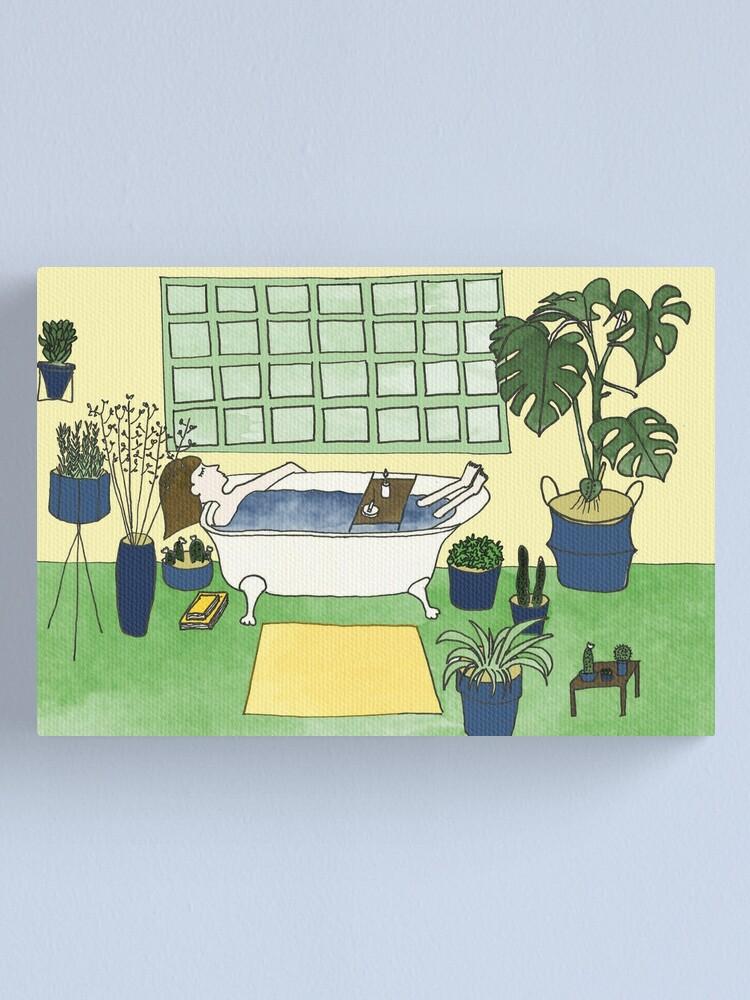 Alternative Ansicht von Self Care Leinwanddruck