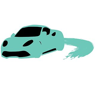 """Lavishing """"Silhouette Blue Car"""" perfect for awesome, intense and brilliant person like you! by Customdesign200"""