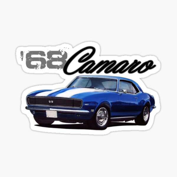 1968 Camaro Sticker