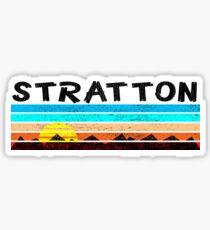 Ski Stratton Vermont Skiing Mountains Snowboarding Londonderry Sticker