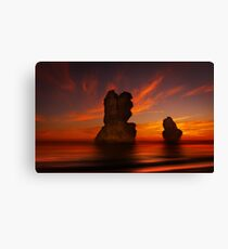 Time Lords - Gibson Steps Port Campbell N.P. Canvas Print