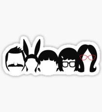 Bob's Burgers Family Sticker