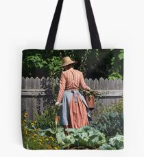 The woman in the garden - Canada Tote Bag