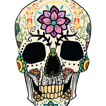 Day Of The Dead Skull by soondoock