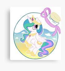 Princess Celestia - bottled up Canvas Print