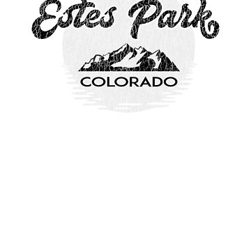 Estes Park Colorado Rocky Mountains National Park by MyHandmadeSigns