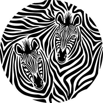 Zebra Print by Lisann
