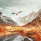 Mountains Cold by Elentori
