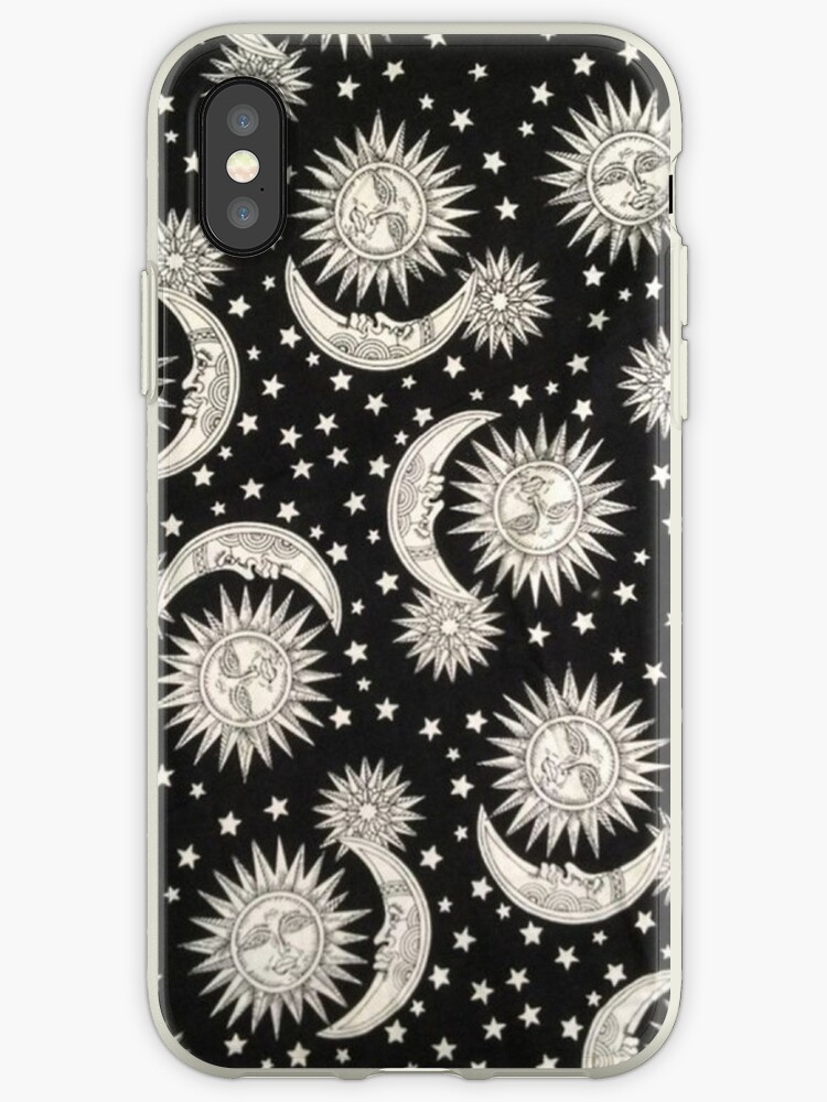 low priced 6d895 4bb89 'Sun and Moon' iPhone Case by phantastique