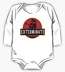 Darlek Exterminate Jurassic Park Dr Who One Piece - Long Sleeve