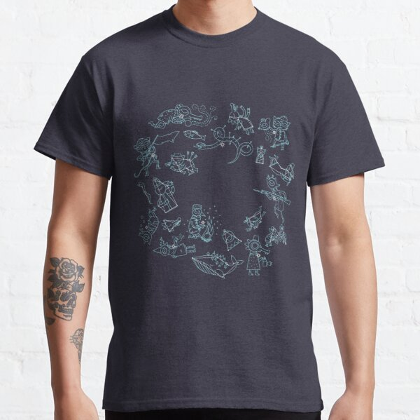 Night in the Woods Constellations Classic T-Shirt