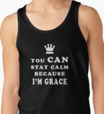 YOU CAN STAY CALM BECAUSE I'M GRACE ASEXUAL T-SHIRT Men's Tank Top