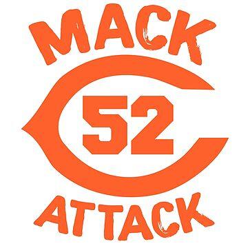 Mack Attack 52 Bears Football by tessBuzz