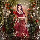 The lady of the rose by Vera-Adxer