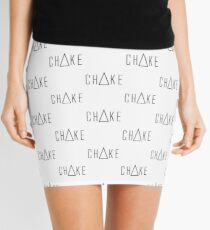 Triangle Choke Mini Skirt